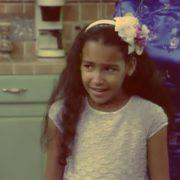 Naya in her childhood