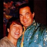 Jackie Chan and Steven Seagal