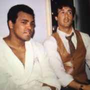 Muhammad Ali and Sylvester Stallone