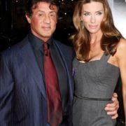 Jennifer Flavin and Sylvester Stallone