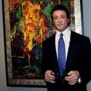 Sylvester Stallone painter