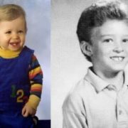 Justin Timberlake in his childhood