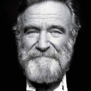 Robin Williams. Portrait by Peter Hapak for Time