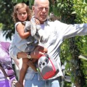 Bruce Willis and his daughter