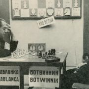Capablanca and Botwinnik