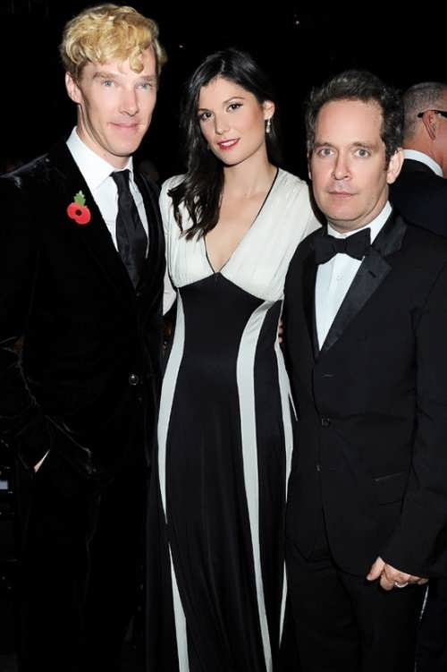Anna Jones and Cumberbatch