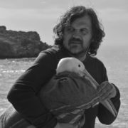 Emir Kusturica and pelican