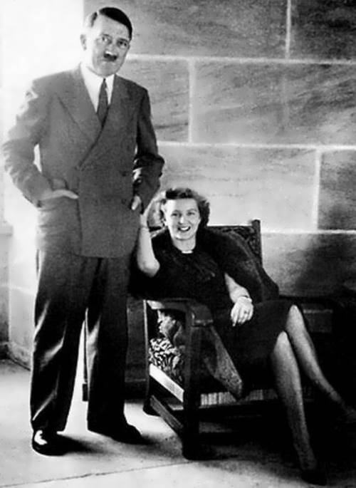 Eva Braun and Hitler
