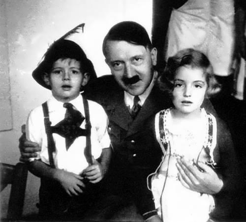 Hitler and children