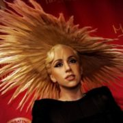Lady Gaga at Madame Tussauds in Times Square, New York City