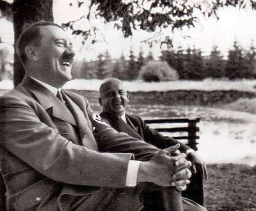Laughing Hitler