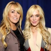 Lindsay Lohan and her mother