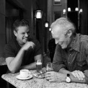 Matt Damon and Eastwood