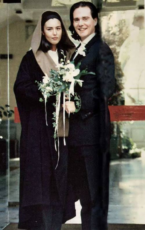 Monica Bellucci and Claudio Basso