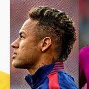 Neymar hairstyles