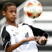 Neymar in his teens
