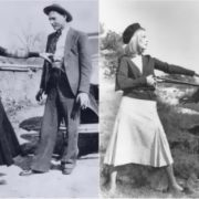 Real Bonnie and Clyde and film characters
