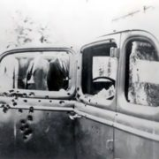 The car of Bonnie and Clyde