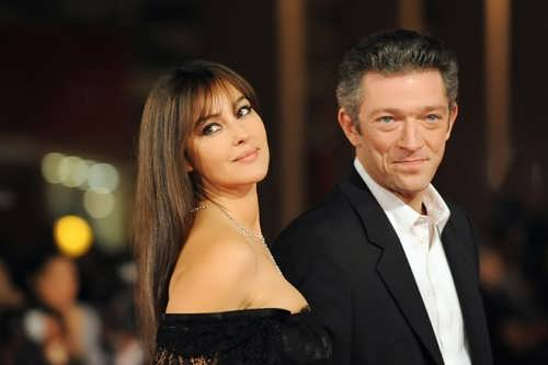 Vincent Cassel and Monica