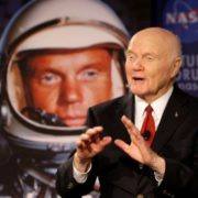 American astronaut John Glenn