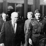 Che Guevara and Soviet leader