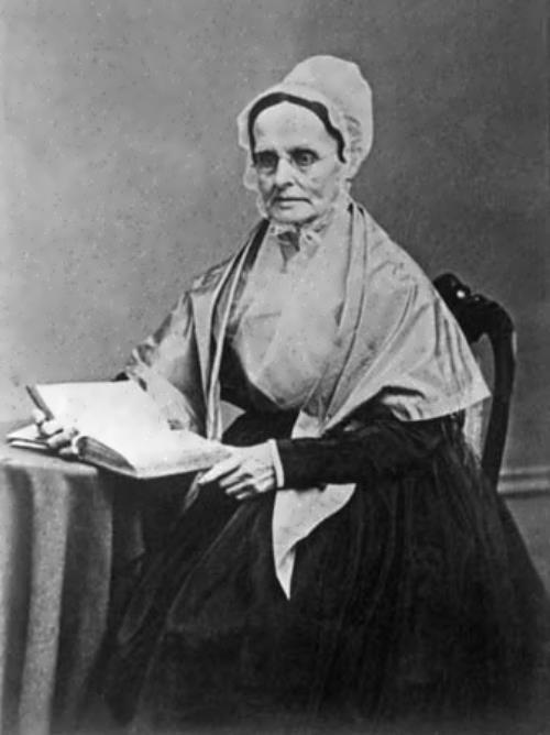 Feminist leader Lucretia Mott