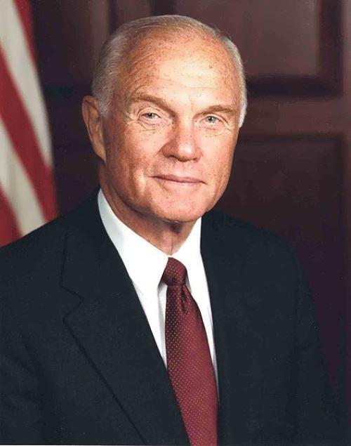 John Glenn - American astronaut and senator