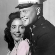 John Glenn and his wife