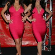 Kim Kardashian wax figure at Madame Tussauds