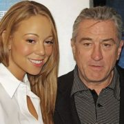 Mariah Carey and Robert De Niro