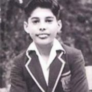 Mercury in his childhood