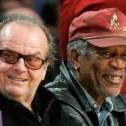 Morgan Freeman and Nicholson