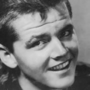 Nicholson in his youth