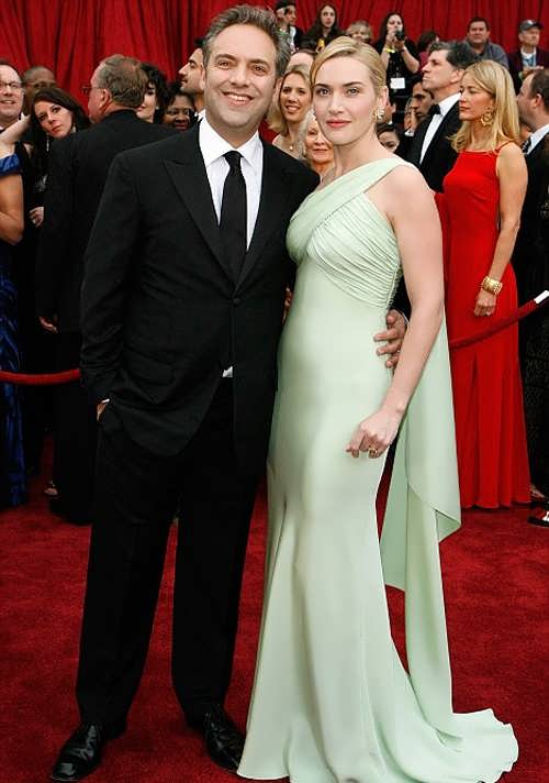 Sam Mendes and Kate Winslet