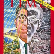 Barry Commoner on the cover of Time magazine