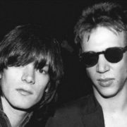 Dee Dee Ramone and Richard Hell, 1975
