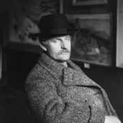 Edward Munch in 1912