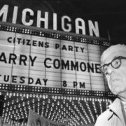 Famous scientist Barry Commoner