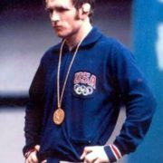Famous wrestler Dan Gable