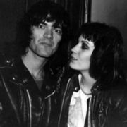 Joan Jett and Dee Dee Ramone
