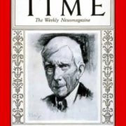 John D. Rockefeller on the cover of Time magazine