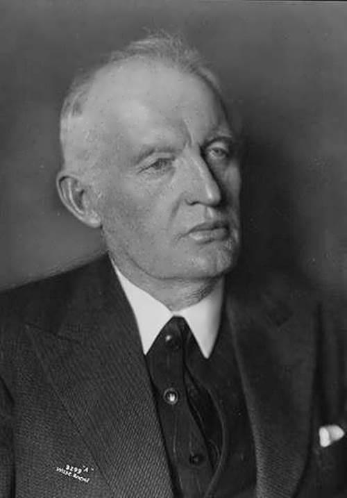 Norwegian painter Edvard Munch. 1933