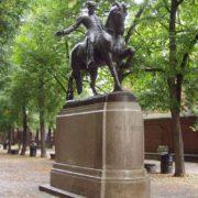 Paul Revere Statue by Cyrus E. Dallin, North End, Boston, MA
