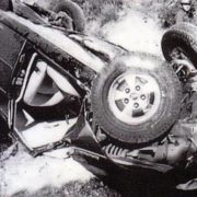 Photo from the place of the accident
