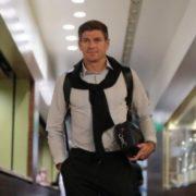 Prominent Steven Gerrard