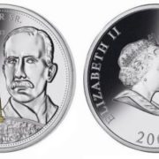 Rockefeller on the coin