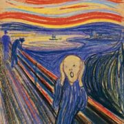 Scream became the most famous painting of Edward Munch