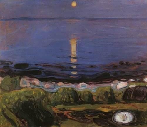 Summer Night On the Beach, 1902