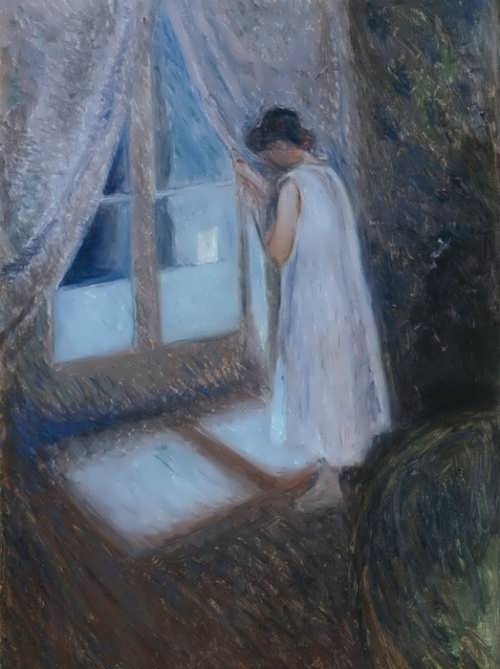 The girl at the window, 1893