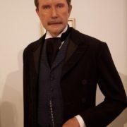 Wax figure of John D. Rockefeller